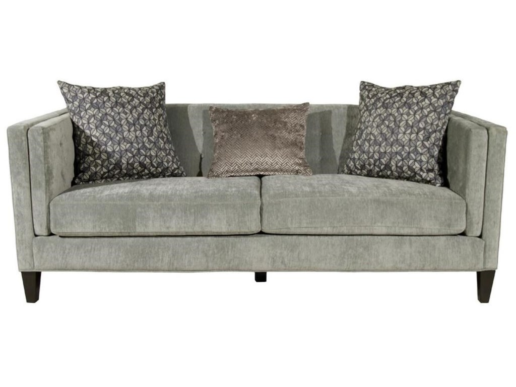 Jonathan Louis Strathmore Traditional Sofa With Tufting Conlin S