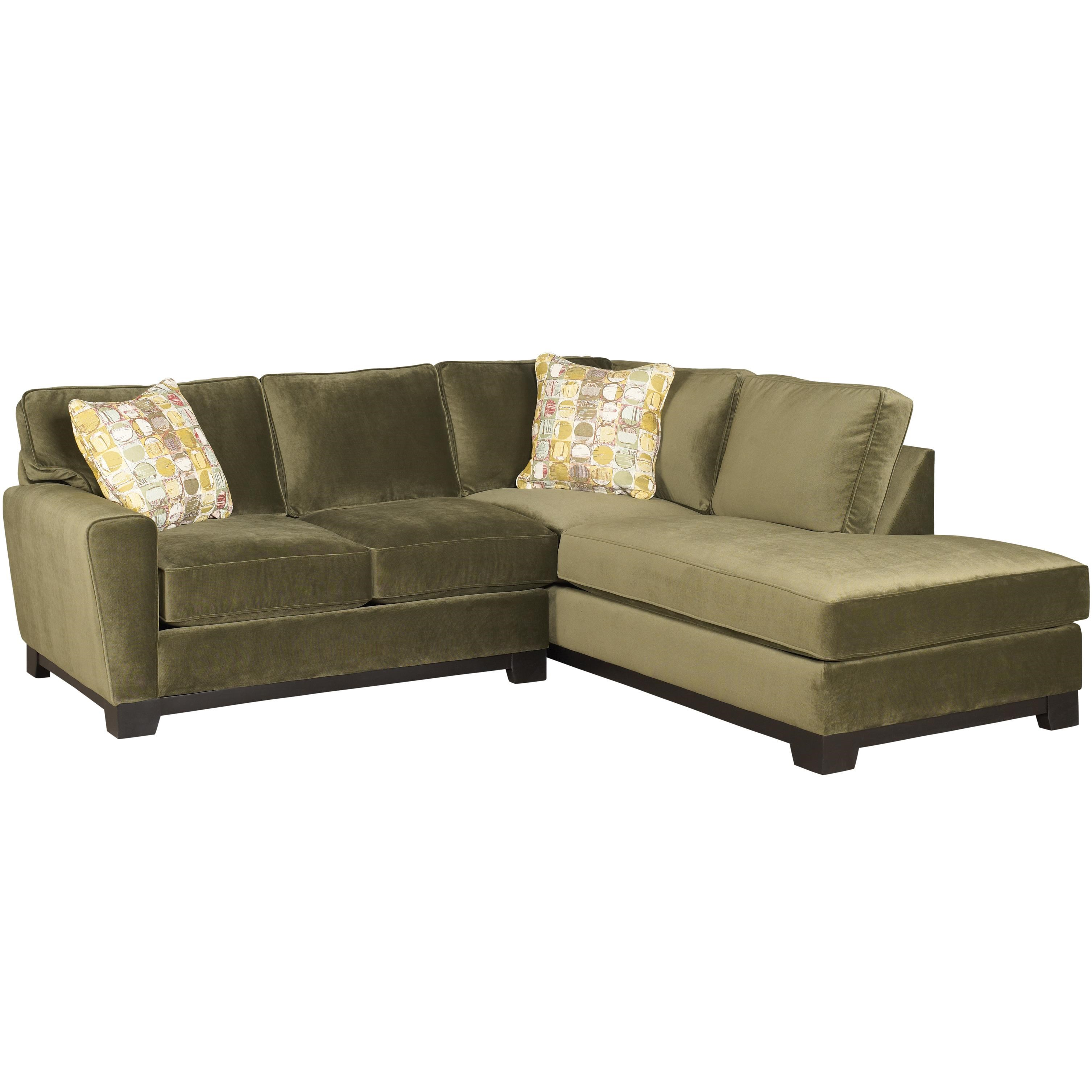 Jonathan Louis Taurus Casual Sectional With Block Feet