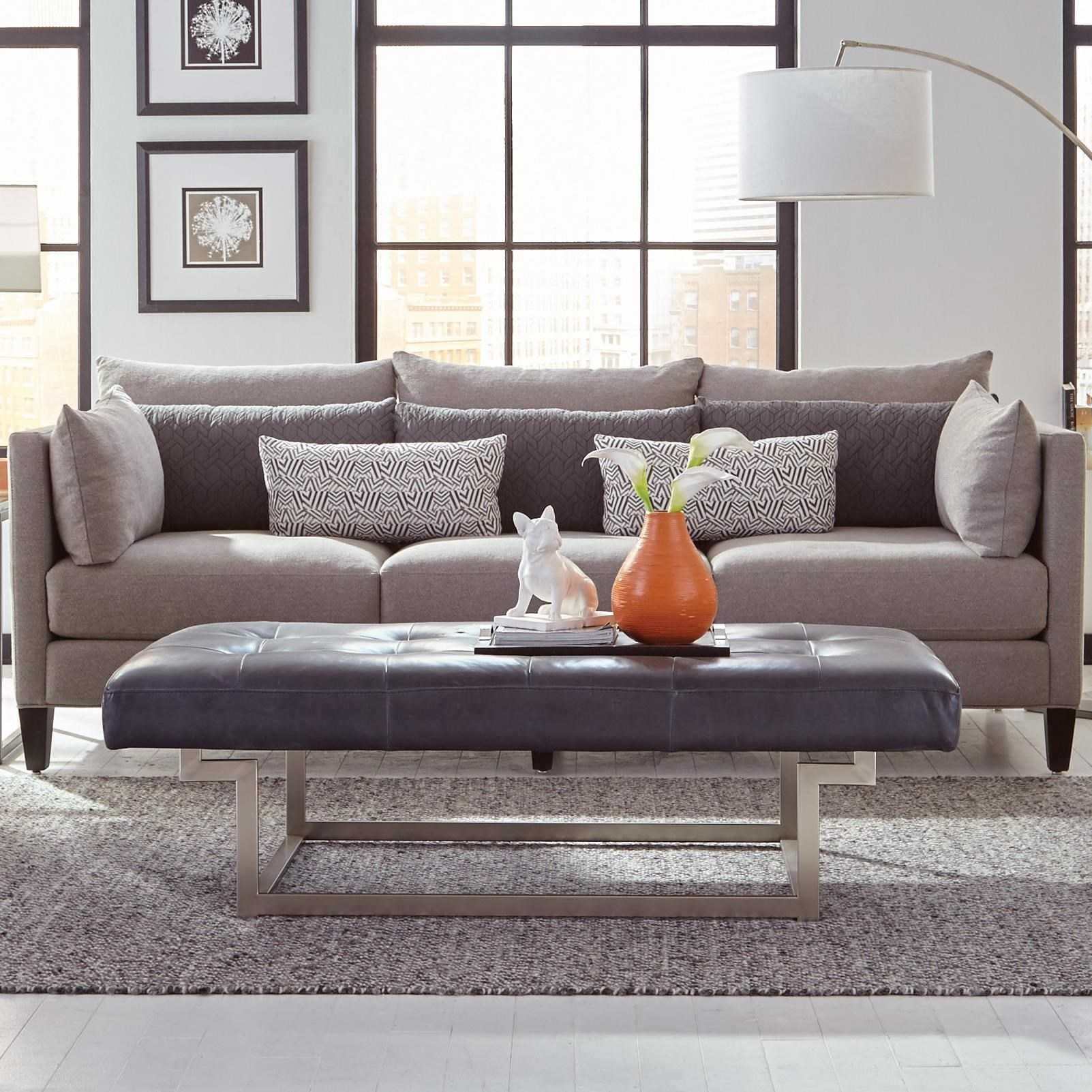 Jonathan Louis WindsorTransitional Condo Sofa