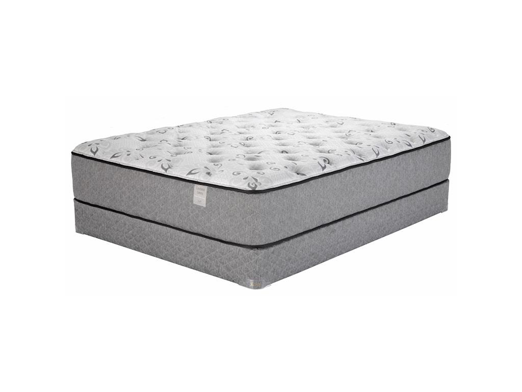 Justice Furniture & Bedding Castlehill LuxuryTwin XL Plush Latex Mattress Set