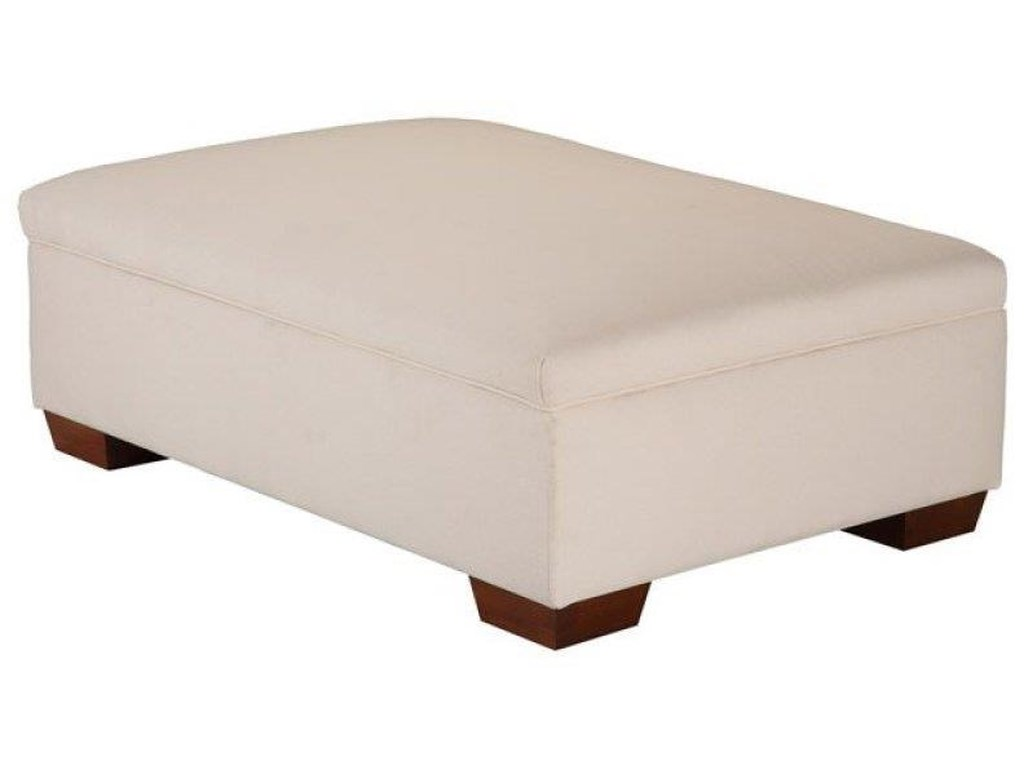 Justice Furniture & Bedding JeanStorage Cocktail Ottoman