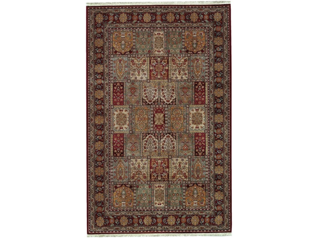 Karastan Rugs Antique Legends2'6x4' Bakhtiyari Rug