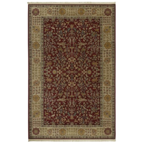 Karastan Rugs Antique Legends 4'3x6' Emperor's Hunt Rug