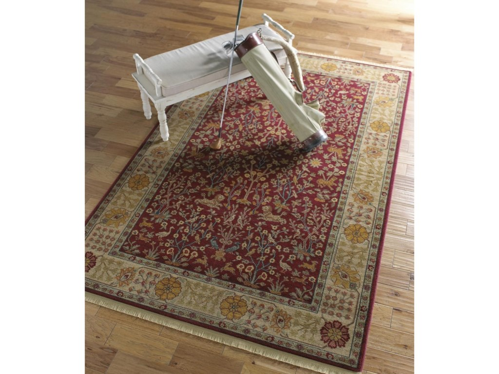 Karastan Rugs Antique Legends4'3x6' Emperor's Hunt Rug