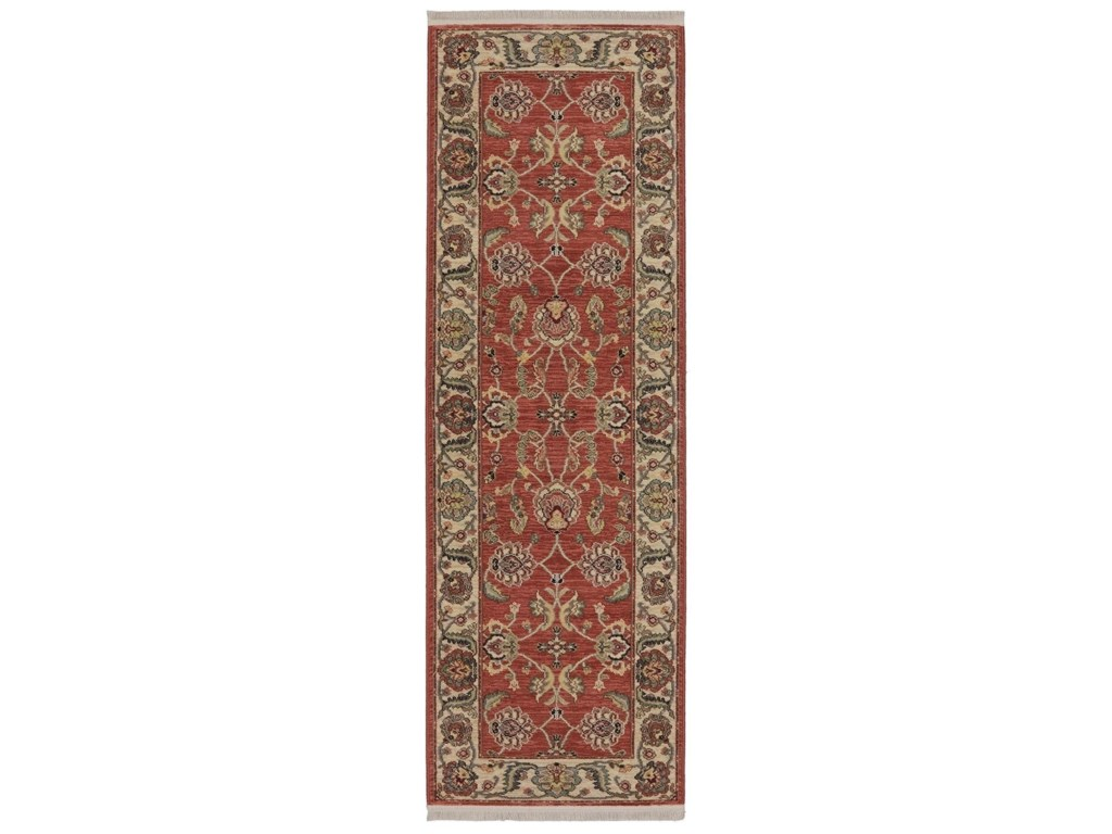 Karastan Rugs Ashara8'8x12' Agra Red Rug