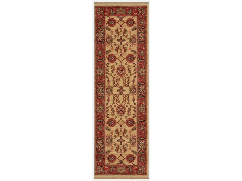 Karastan Rugs Ashara5'9x9' Agra Ivory Rug