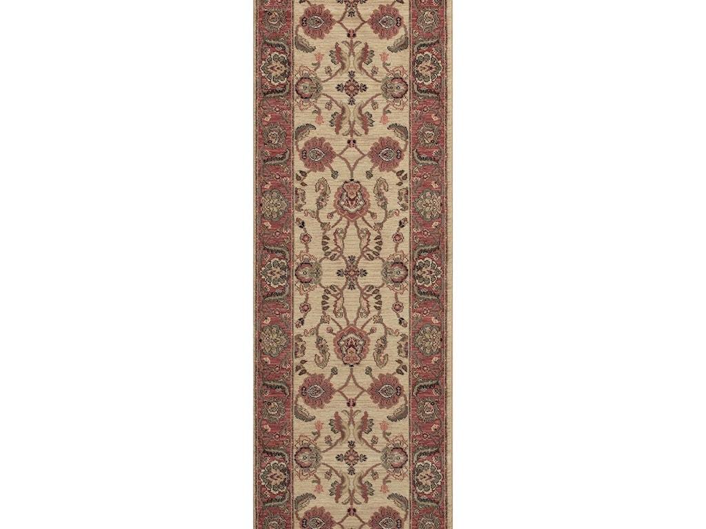 Karastan Rugs Ashara10'x14' Agra Ivory Rug