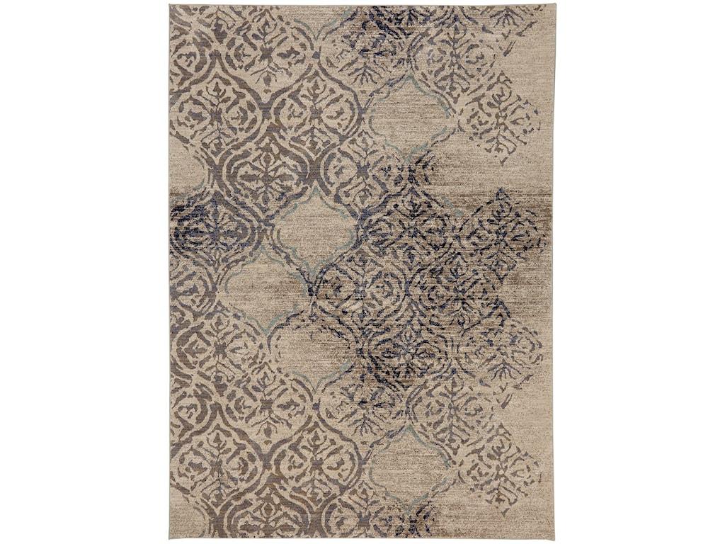 Karastan Rugs Cosmopolitan8'x11' Rectangle Ornamental Area Rug