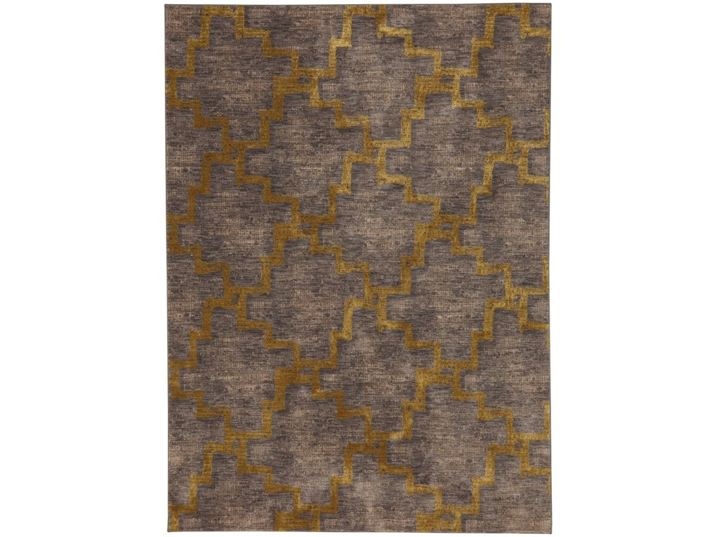 Karastan Rugs Cosmopolitan8'x11' Rectangle Geometric Area Rug