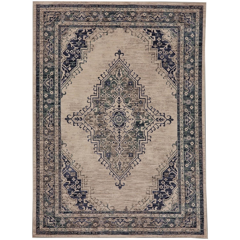 8'x11' Rectangle Ornamental Area Rug
