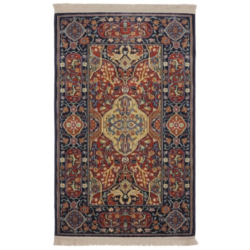 Karastan Rugs English Manor 2'6x8' Hampton Court Rug Runner