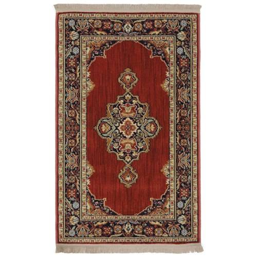 Karastan Rugs English Manor 2'6x8' Canterbury Rug Runner