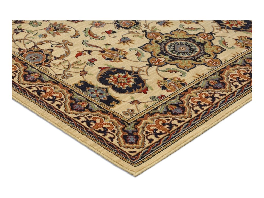 Karastan Rugs English Manor2'6x8' Manchester Ivory Rug Runner