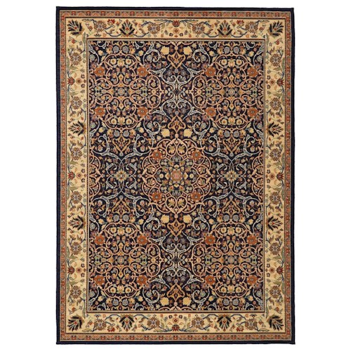 Karastan Rugs English Manor 2'6x4' Sutton Rug