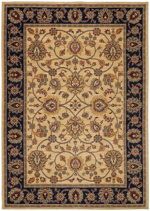 Karastan Rugs English Manor 3'8x5' Oxford Ivory Rug