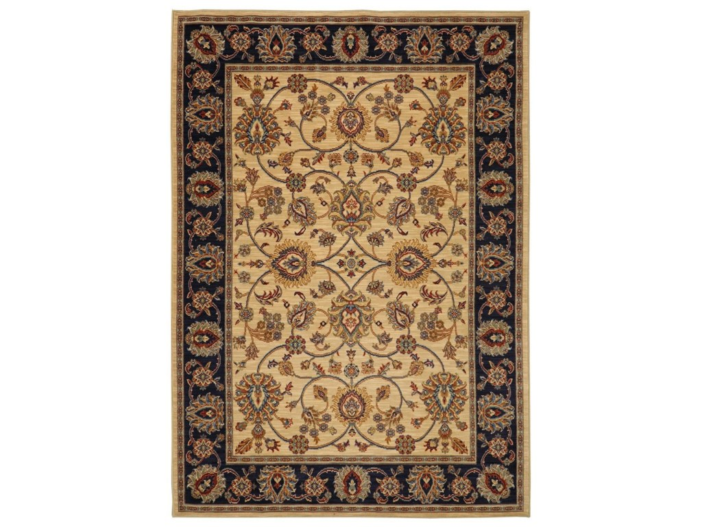 Karastan Rugs English Manor8'6x11'6 Oxford Ivory Rug