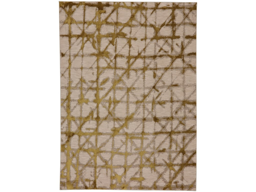 Enigma 9 6 X12 11 Rectangle Geometric Area Rug By Karastan Rugs