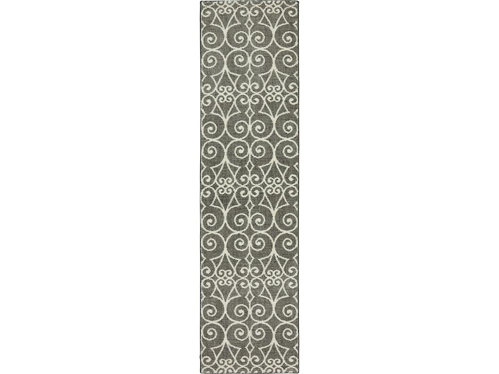 Karastan Rugs Euphoria8'x11' Fasney Ash Grey Rug