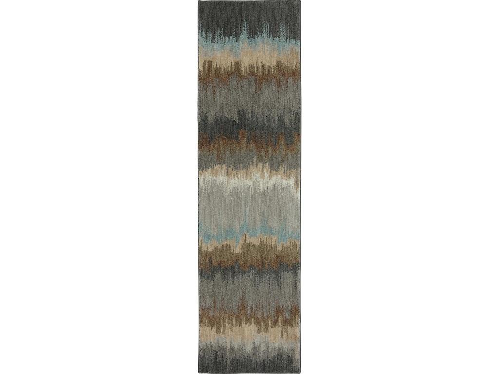 Karastan Rugs Euphoria9'6x12'11 Cashel Abyss Blue Rug