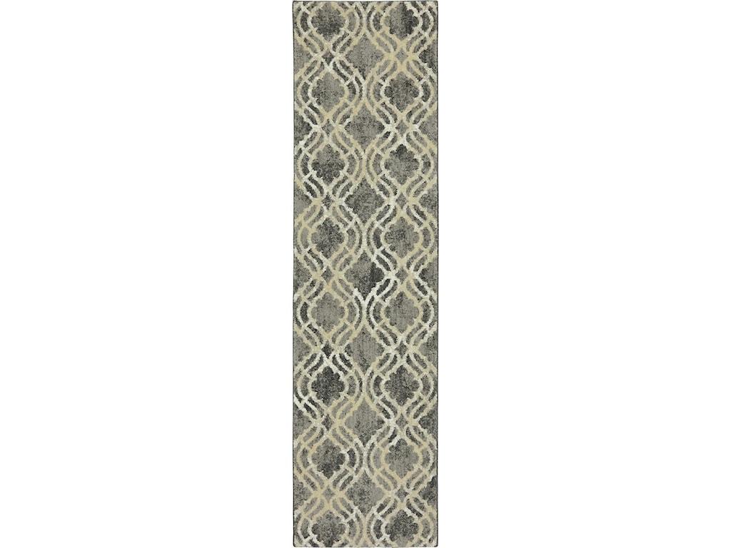 Karastan Rugs Euphoria3'6x5'6 Potterton Ash Grey Rug