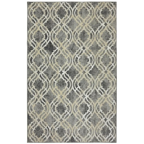 Karastan Rugs Euphoria 8'x11' Potterton Ash Grey Rug