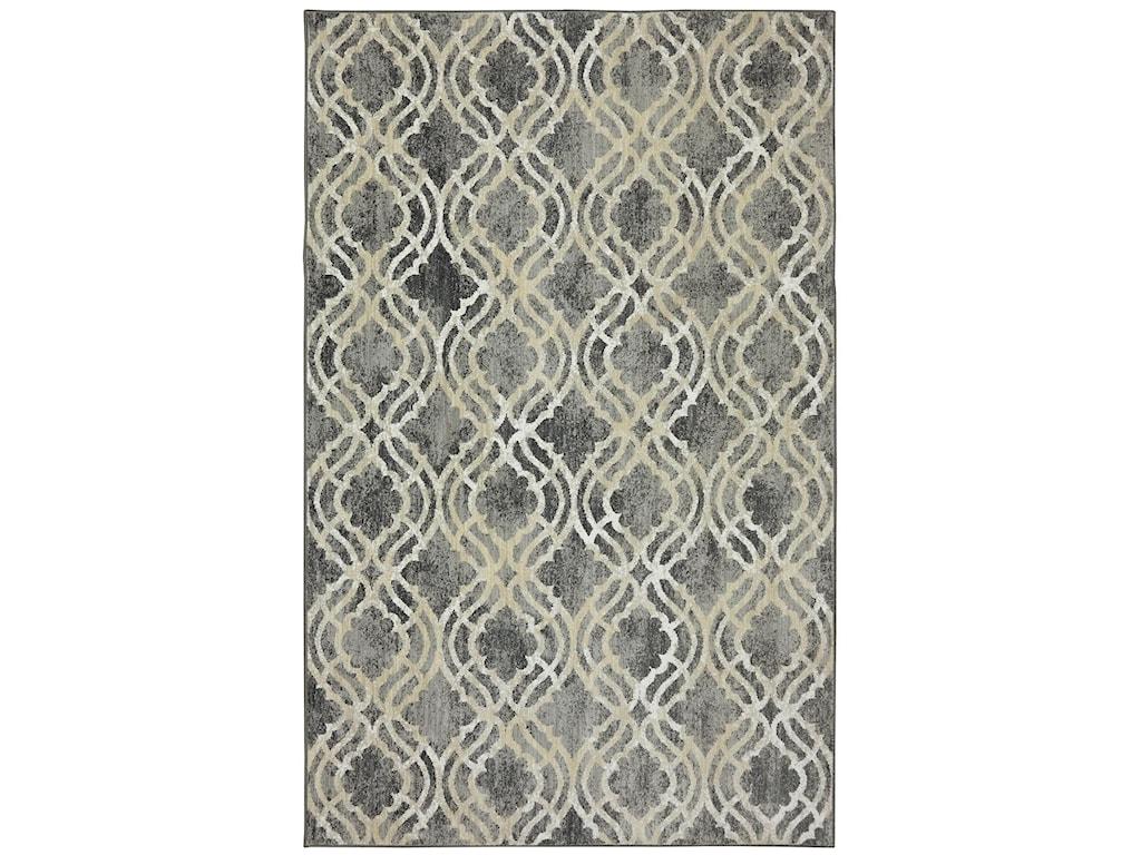 Karastan Rugs Euphoria9'6x12'11 Potterton Ash Grey Rug