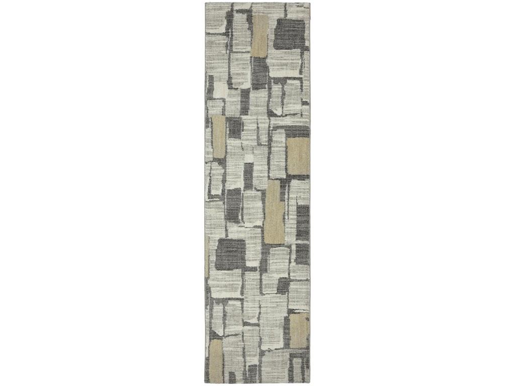 Karastan Rugs Euphoria9'6x12'11 Limerick Sand Stone Rug