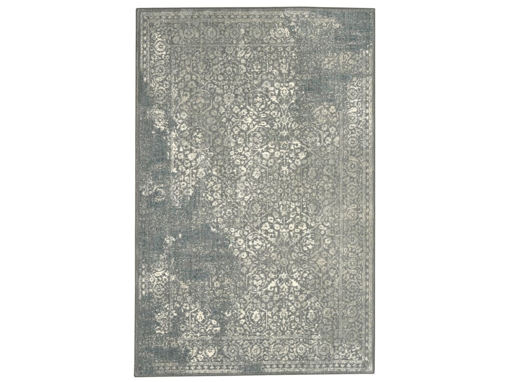 Karastan Rugs Euphoria9'6x12'11 Ayr Willow Grey Rug