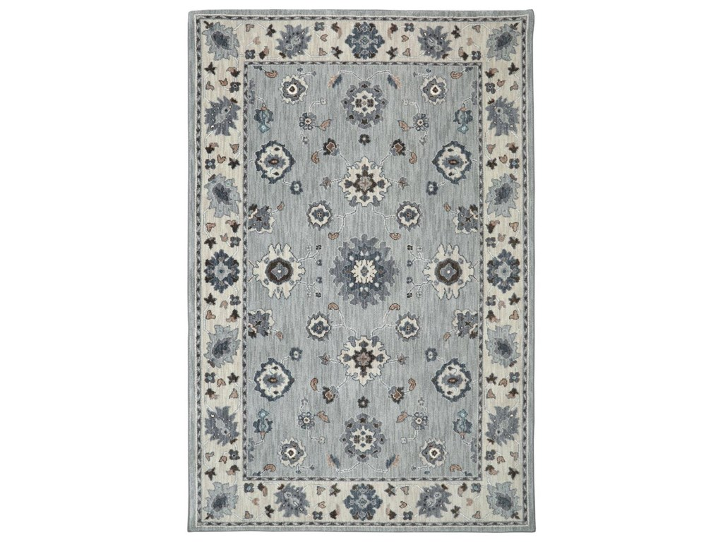 Karastan Rugs Euphoria9'6x12'11 Kirkwall Willow Grey Rug
