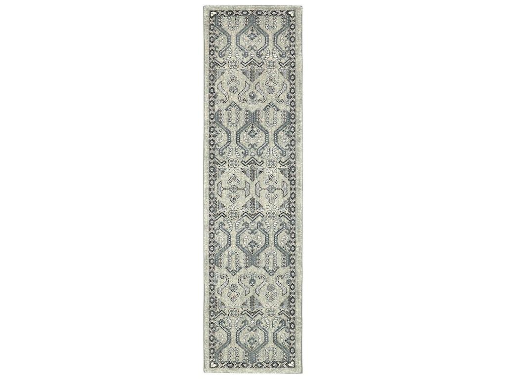Karastan Rugs Euphoria3'6x5'6 Castine Willow Grey Rug
