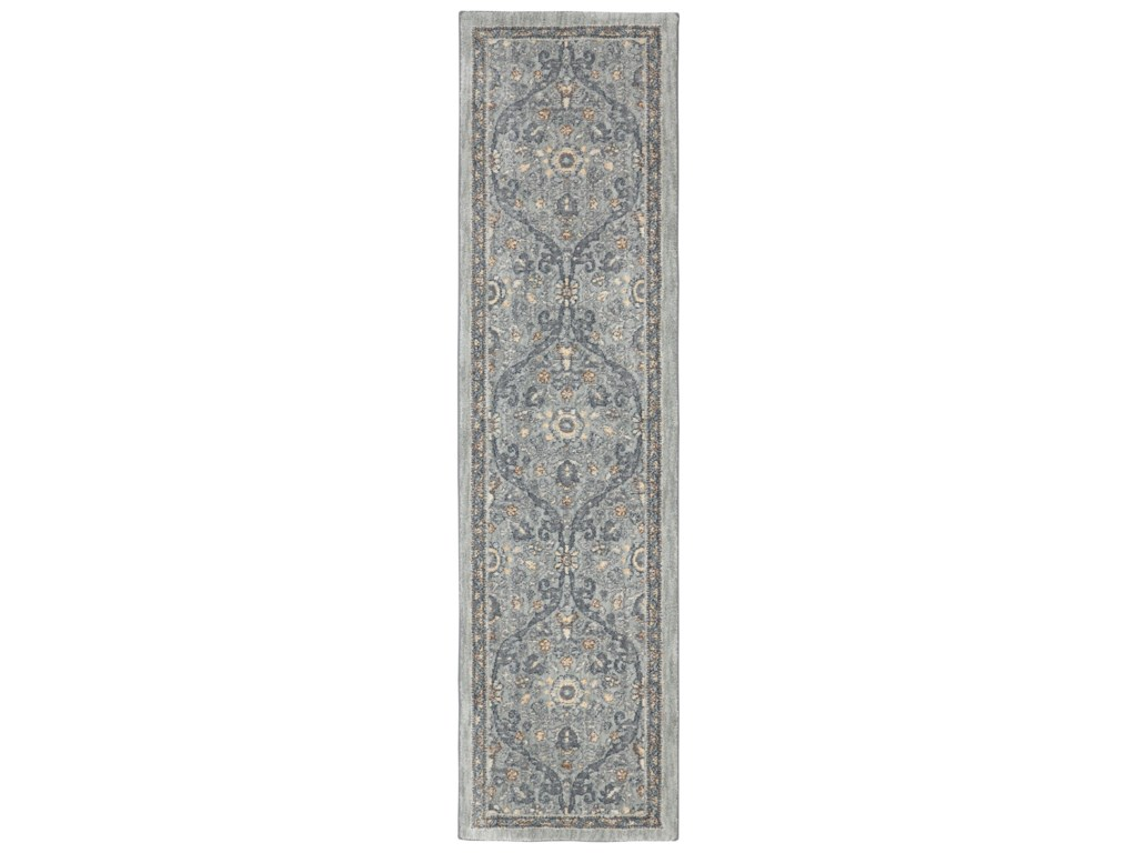 Karastan Rugs Euphoria3'6x5'6 Galway Willow Grey Rug