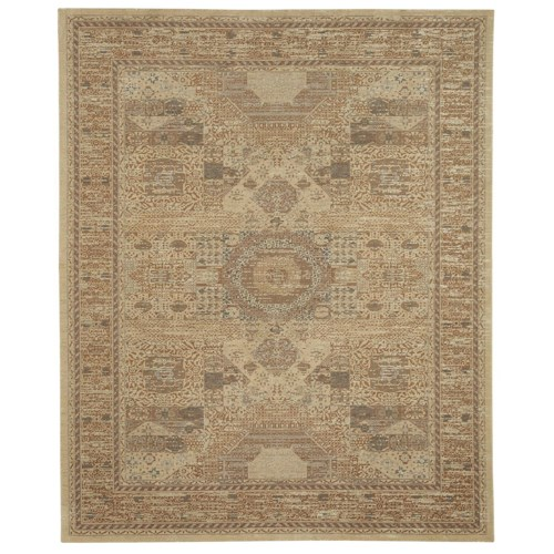 Karastan Rugs Evanescent 7'9x9'9 Baron Light Rug