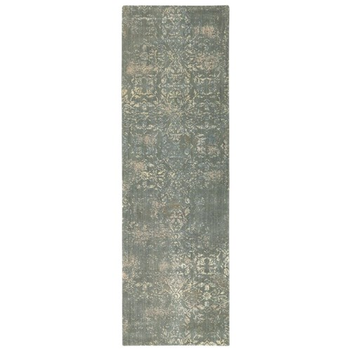 Karastan Rugs Evanescent 2'6x8' Nai Sage Rug Runner