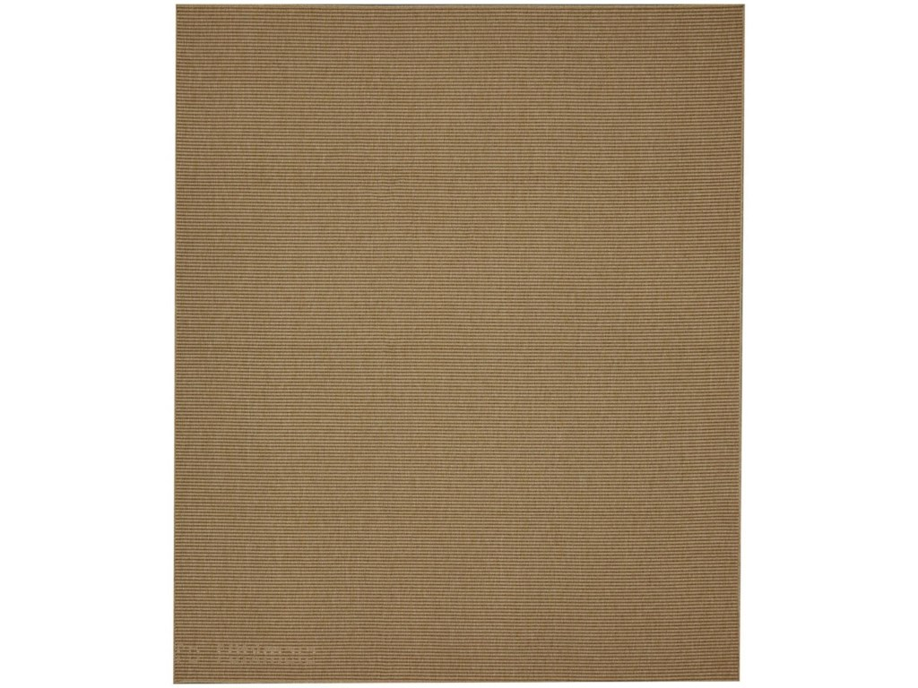 Karastan Rugs Portico5'x8' Rectangle Ribbed Solid Area Rug