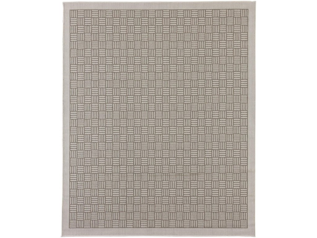 Karastan Rugs Portico9'x12' Rectangle Ribbed Solid Area Rug
