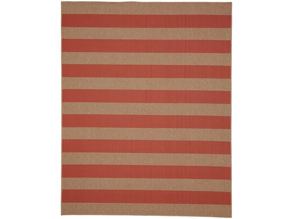 Karastan Rugs Portico9'x12' Rectangle Striped Area Rug