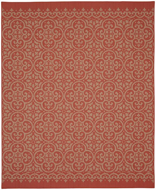 Karastan Rugs Portico 9'x12' Rectangle Ornamental Area Rug