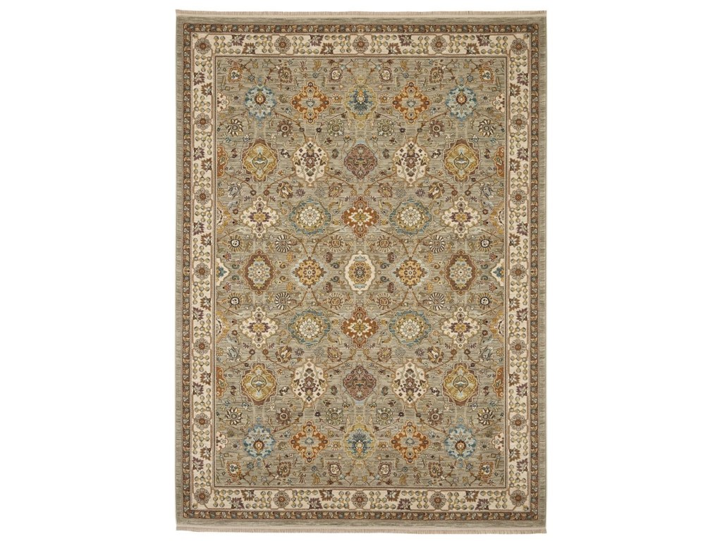 Karastan Rugs Sovereign8'8x10' Emir Gray Rug