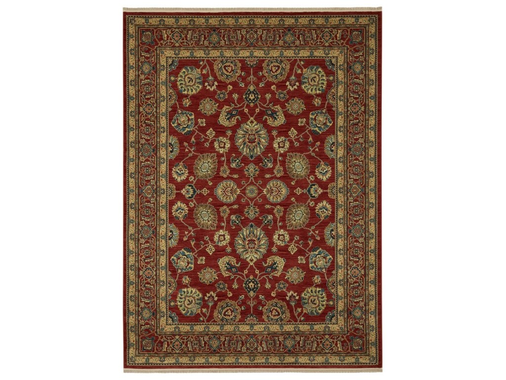 Karastan Rugs Sovereign10'x14' Sultana Red Rug