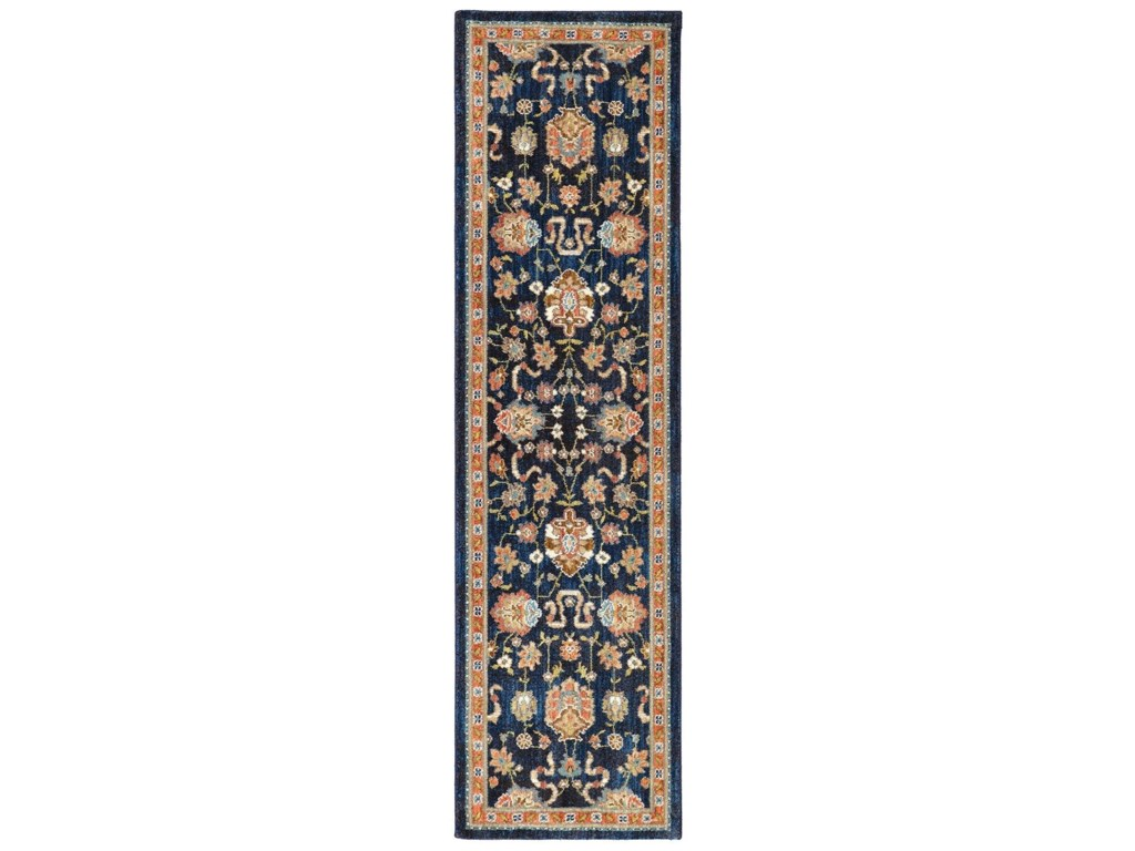 Karastan Rugs Spice Market3'5x5'5 Zargos Sapphire Rug