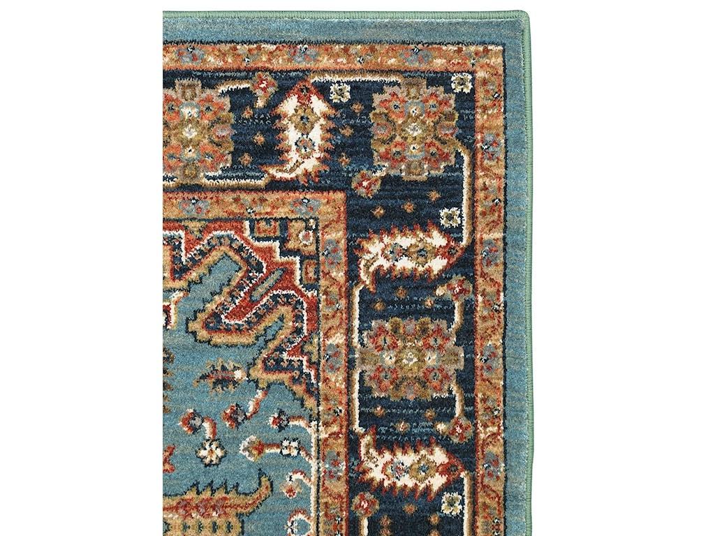 Karastan Rugs Spice Market8'x11' Deir Aquamarine Rug