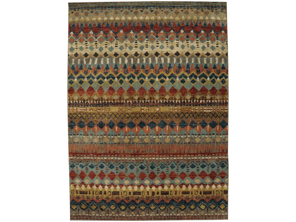 Karastan Rugs Spice Market2'x3' Rectangle Geometric Area Rug