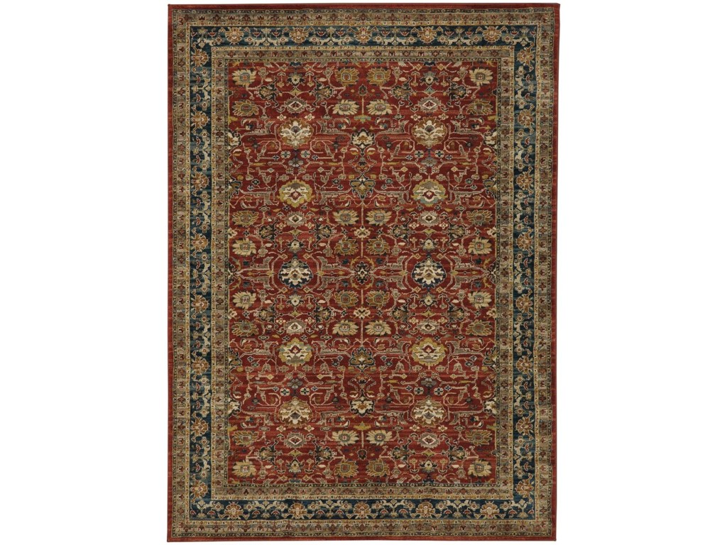 Spice market 5 3x7 10 rectangle ornamental area rug by karastan rugs