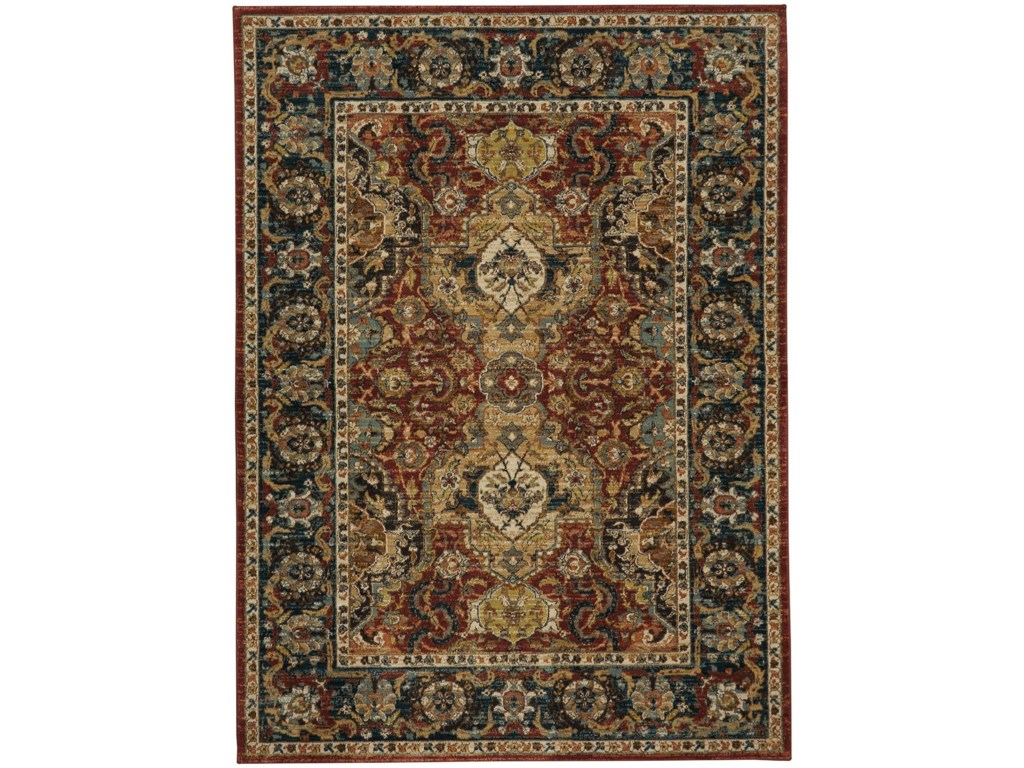 Karastan Rugs Spice Market8'x11' Rectangle Ornamental Area Rug