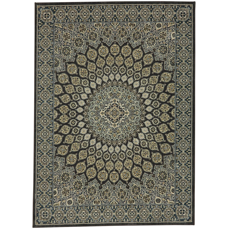 Karastan Rugs Touchstone 8u0027x11u0027 Rectangle Ornamental Area Rug