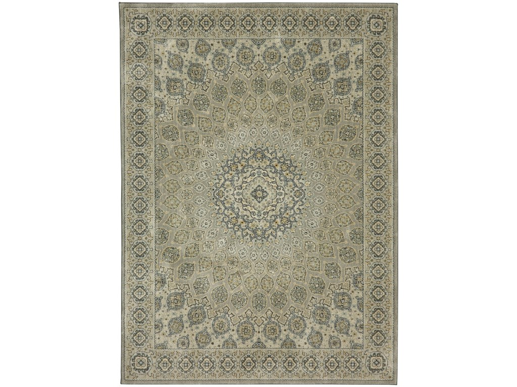 Karastan Rugs Touchstone8'x11' Rectangle Ornamental Area Rug