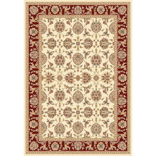 Kas Chateau 3.3 x 4.11 Area Rug : Red