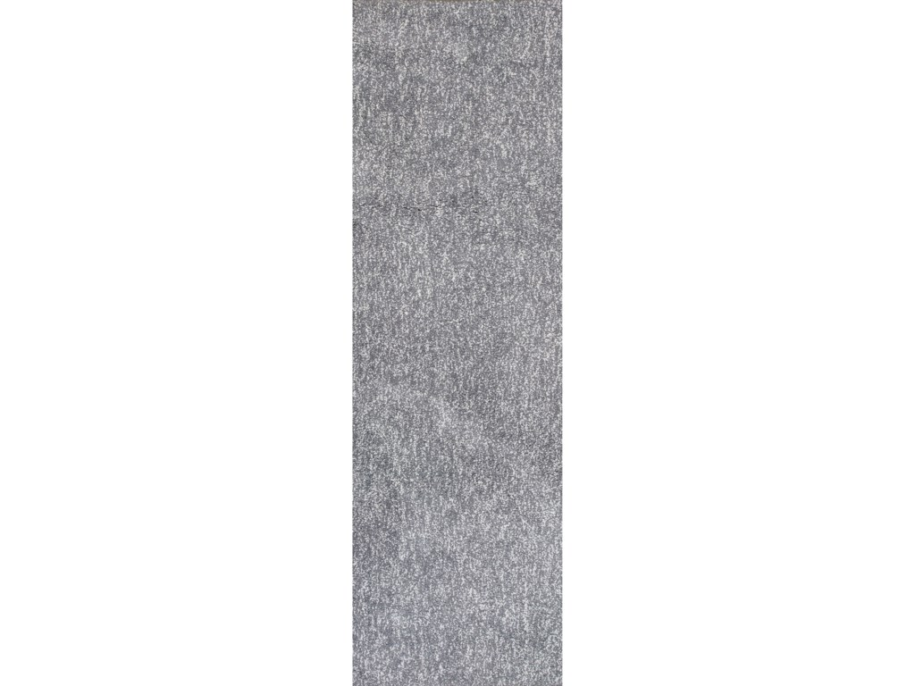 Kas Bliss8' X 8' Grey Heather Shag Area Rug