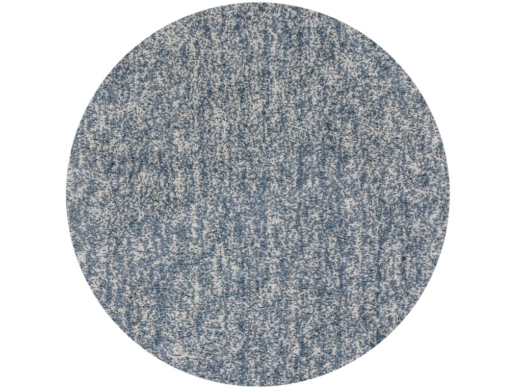 Kas Bliss9' X 13' Slate Heather Shag Area Rug