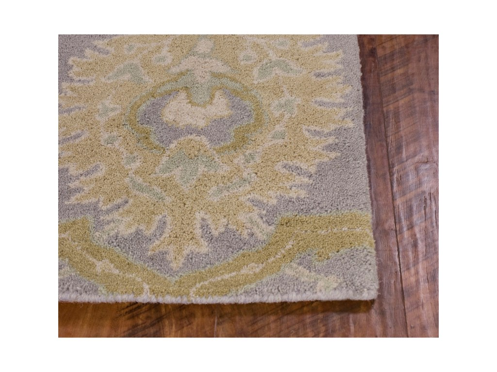 Kas Chelsea5' X 7' Lilac Courtney Area Rug